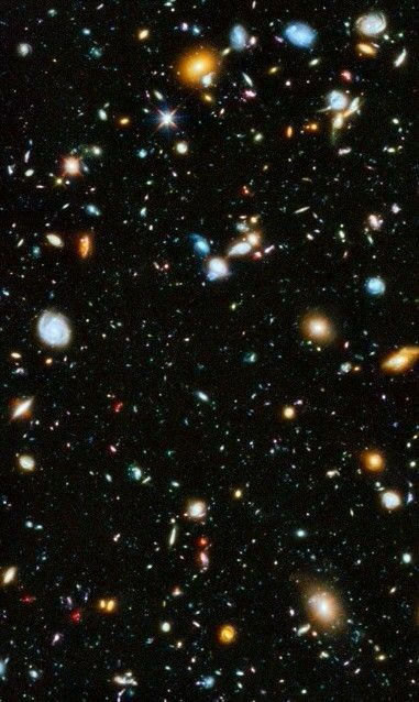 The Hubble Extreme Deep Field is most distant image of the Universe ever  created. | Hubble pictures, Hubble space, Hubble images