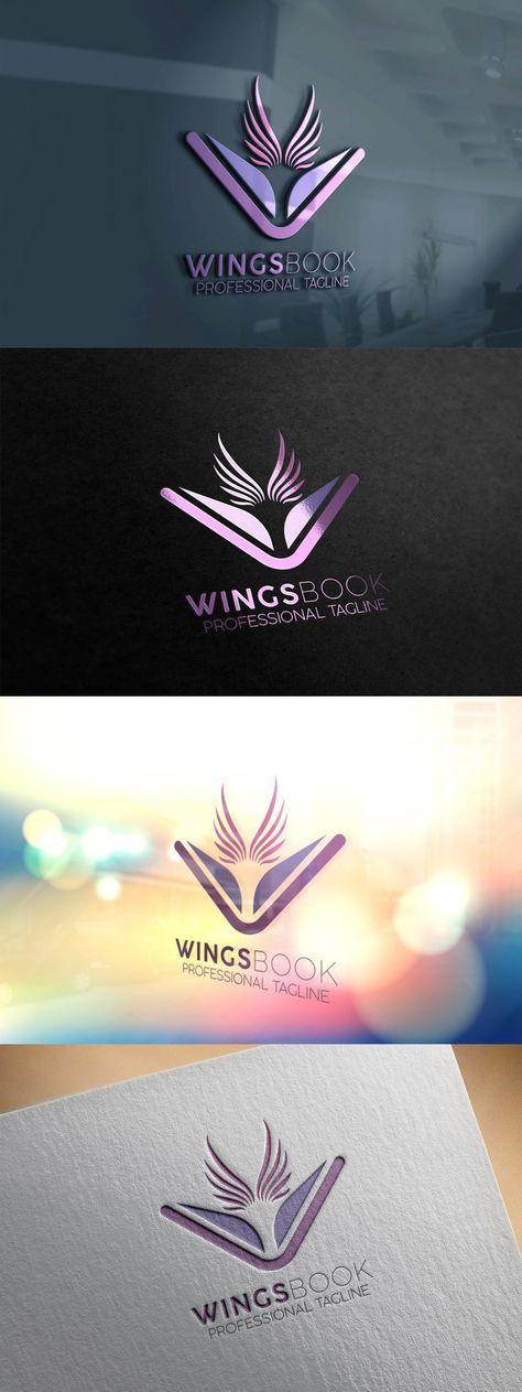 Wings Book Logo