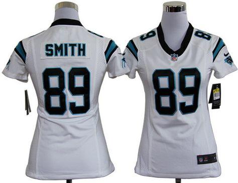 nike panthers 89 steve smith white womens nfl game jersey and cowboys ezekiel elliott 21 jersey cowb
