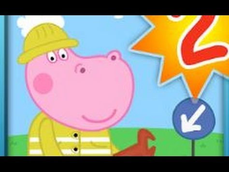 Hippo Peppa Professions Kindergarten 2 Android Educational Gameplay