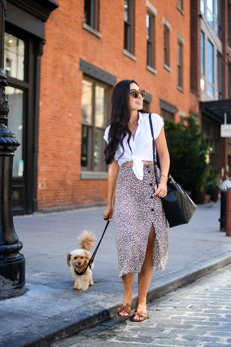 An Easy Summer Outfit in New York City - With Love From Kat
