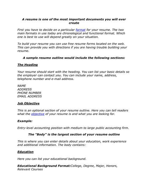education details in resume - Minimfagency