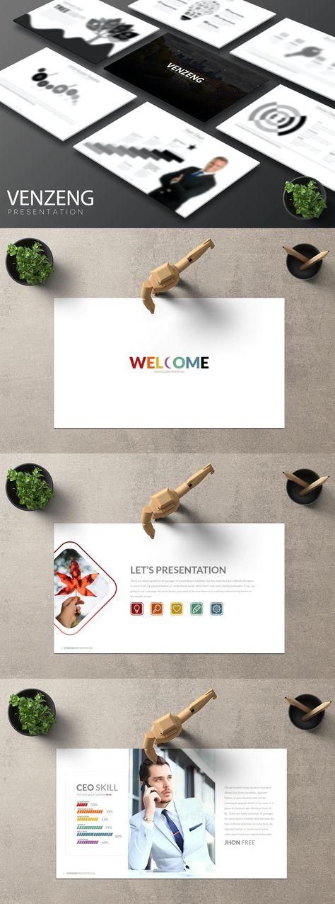 Venzeng Google Slides Presentation Template
