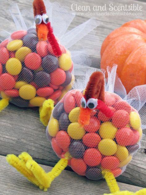 Thanksgiving turkey treats!