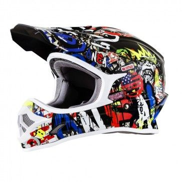 O Neal 3 Series Rancid Youth Motocross Helmets Motocross Helmets Motocross Helmet