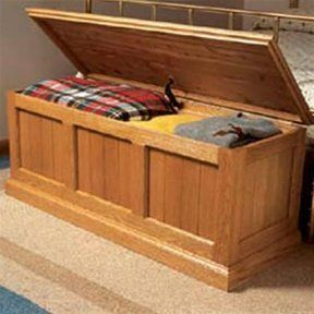 Woodworking Project Paper Plan To Build Cedar Lined Oak Chest Cedarwoodworking Chest Woodworking Plans Beginner Woodworking Projects Easy Woodworking Projects