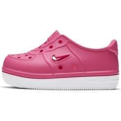 Nike Foam Force 1 Baby Toddler Shoe Pink Nikenike Toddler Fashion Baby Foam Force Nike Nikenike Pink Shoe Toddler In 2020 Toddler Shoes Pink Nikes Nike