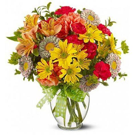 Fiori Con La S.𝗠𝗼𝘂𝗹𝗶𝗻 𝗽𝗶𝗰𝗰𝗼𝗹𝗼 Bouquet Con Colori Misti Chiari