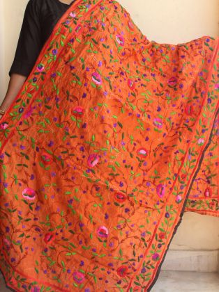 List Of Pinterest Phulkari Dupatta Embroidery Shops Images