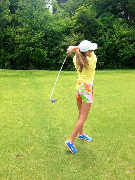 golfing. ♡