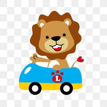 Gambar Mengemudi Permainan Mobil Mainan Mobil Kartun Singa Kartun Singa Kecil Png Dan Vektor Dengan Latar Belakang Transparan Untuk Unduh Gratis Mobil Mainan Kartun Mainan