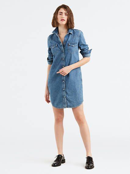 Denim dresses for the stylish ones Denim Dresses & Skirts - Shop ...