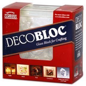 Glass blocks 10.00 decor-centerpieces