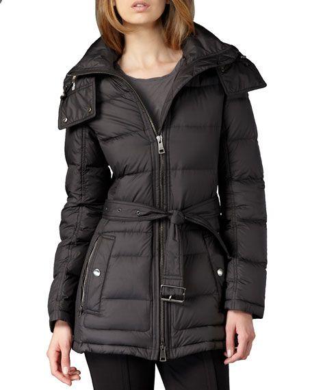 184c9f6195c Short Puffer Coat   Wardrobe   Burberry brit, Burberry, Burberry women