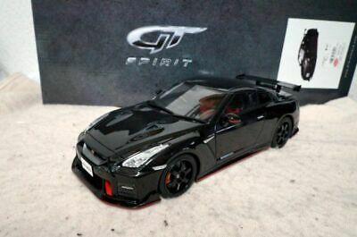 Gt Spirit Nissan Gt R Nismo 2017 1 18 Toy Car Black Diecast Cars Nissan Gt R Nissan Gt