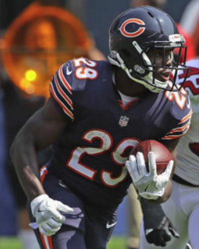 newest collection 36470 2f17d Tarik Cohen   Chicago Bears   Bears football, Chicago bears ...