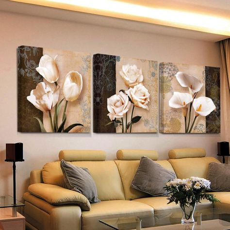 3 piece art hd print bilder cheap modern for living room wall canvas prints cuadros decoracion flores modular triptych painting. Yesterday's price: US $9.37 (8.39 EUR). Today's price (December 2, 2018): US $6.93 (6.18 EUR). Discount: 26%. #Home #Decor #modular #piece