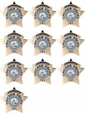 Ebay Ad Url 10 Pcs Chicago Police Officer Badge Pin 1 Police Officer Badge Chicago Police Officer Police Officer