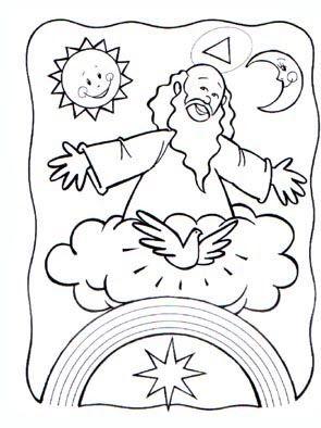 Dibujos Para Colorear Del Padre Nuestro Recopilado De La Web Padre Nuestro Que Estas En El Cielo Dibujos Mar Para Colorear Dibujos De Dios