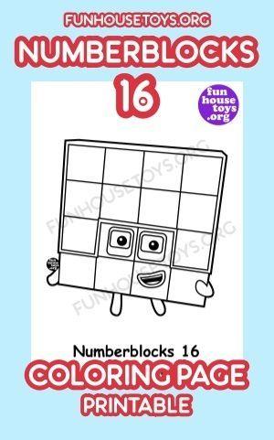 Numberblocks Printables In 2020 Fun Printables For Kids Coloring Pages Printable Coloring Pages