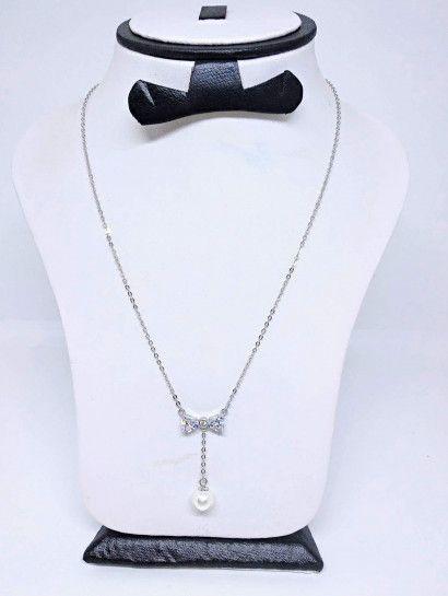 كوليه فضة عيار 925 ارقي اشكال الكوليهات كولية فضة به اولى البيع بالقطعة Jewelry Necklace Cute
