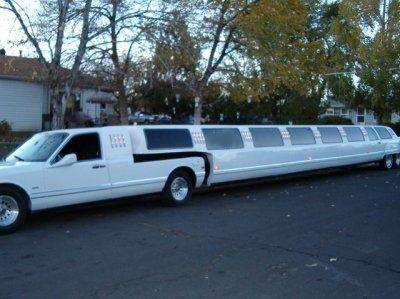 Lincoln Continental Town Car 5th Wheel Stretch Limousine Limousine Car Limo Limousine