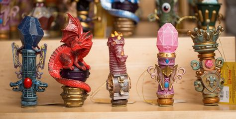 Collect all of the wand toppers and become a Master Magi at Great Wolf Lodge.