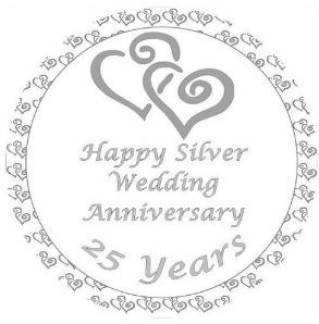 25 Wedding Anniversary Cliparts 10 293 X 298 Carwad Net In 2020 Silver Wedding Anniversary Wedding Anniversary Wishes Happy 25th Anniversary