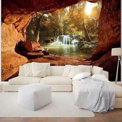 Fototapete P4 254 X 184 Cm In 2020 Fototapete Fototapete Wasserfall Wasserfall Tapete