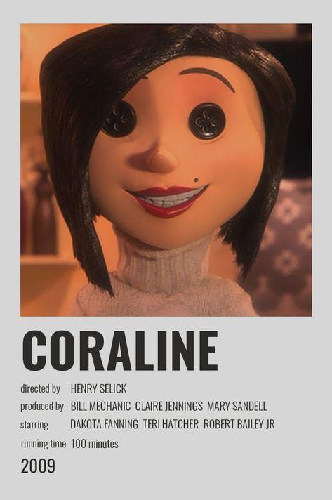 Coraline Polaroid Poster