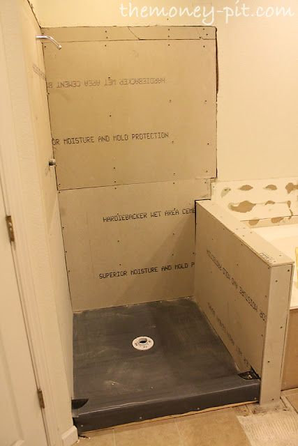 Shower stall remodel...this site has tons of home reno projects