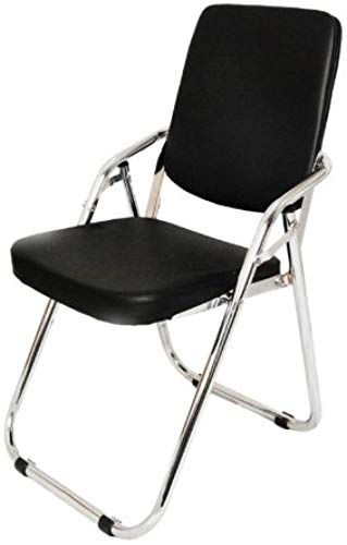 New Yi Hai Folding Chair Thick Padded Metal Black Set One Online Topfashionbestsellers In 2020 Folding Chair Black Set Chair