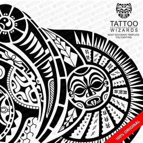 The Rock Tattoo Template Tattoo Wizards Tatouage Maorie Homme