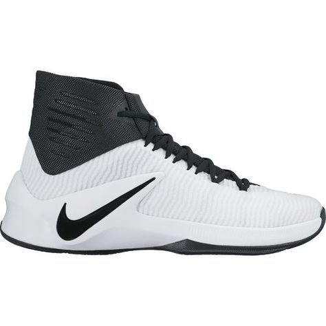 low priced 247f4 80f44 Nike Men s Zoom Clear Out TB Basketball Shoes (Black White, Size 10.5) - Men s  Basketball Shoes at Academy Sports