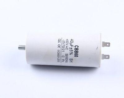 Ad Ebay Url 3pc Cbb60 Ac 450v 50 60hz 40uf 8mm Thread Non Polar Polypropylene Film Capacitor Capacitor Ebay Polar