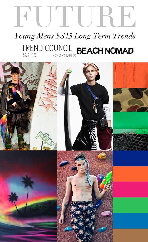 TREND COUNCIL SS 2015- BEACH NOMAD