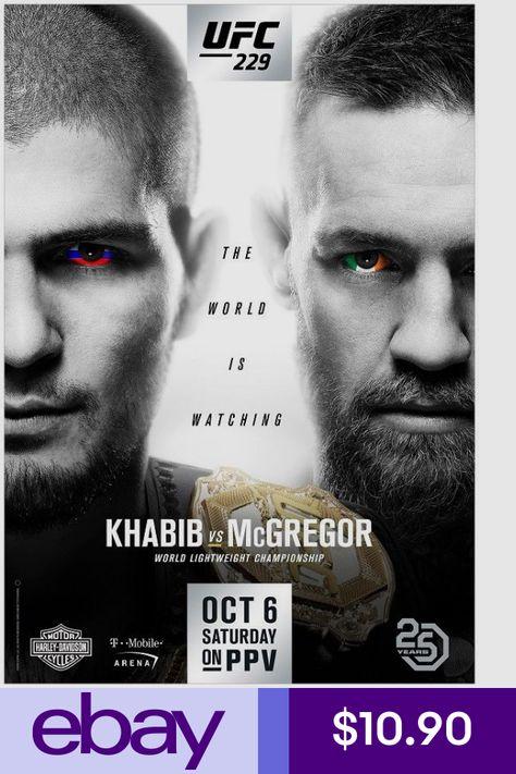 Gastelum vs Adesanya Art Silk Poster 24x36inch UFC 236 Holloway vs Poirier 2