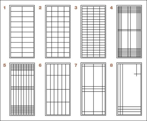 shoji doors | Please click small image below to view a larger version