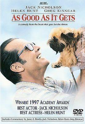 As Good As It Gets Dvd 1997 For Sale Online Ebay Jack Nicholson Get Movies Jack Nicholson Diane Keaton