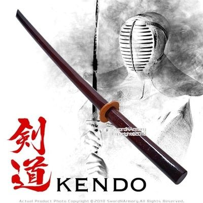 """Single 40/"""" Dragon Daito Bokken Kendo Practice Sword W// Dragon"""