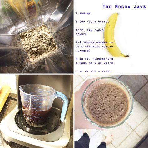 Garden Of Life Raw Meal Shake The Mocha Java With Images Raw