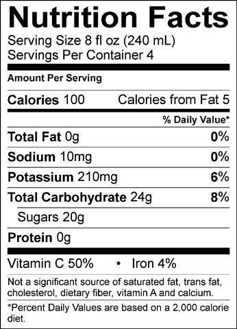 Apple Juice Nutrition Label Nutrition Nutrition Labels Nutrition Facts