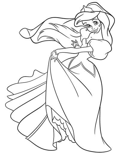 101 Little Mermaid Coloring Pages Nov 2020 And Ariel Coloring Pages Ariel Coloring Pages Mermaid Coloring Princess Coloring Pages