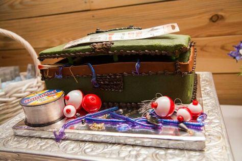 Grooms tackle box wedding cake..  #lemonflavored #delicious  #sweettreatsbakery