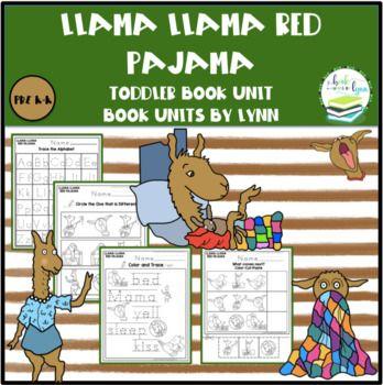 Llama Llama Red Pajama Toddler Book Unit Toddler Books Red