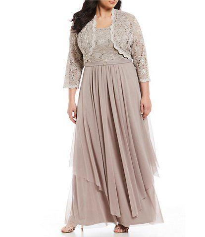 Women\'s Plus-Size Dresses & Gowns | Dillard\'s | Mother of ...