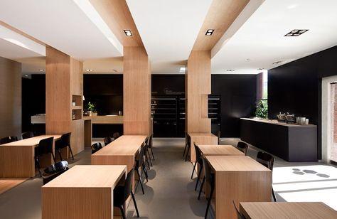 au bien manger restaurant | ADOC architects | Inspired: Interiors ...