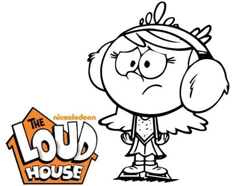 The Loud House Coloring Pages Coloring