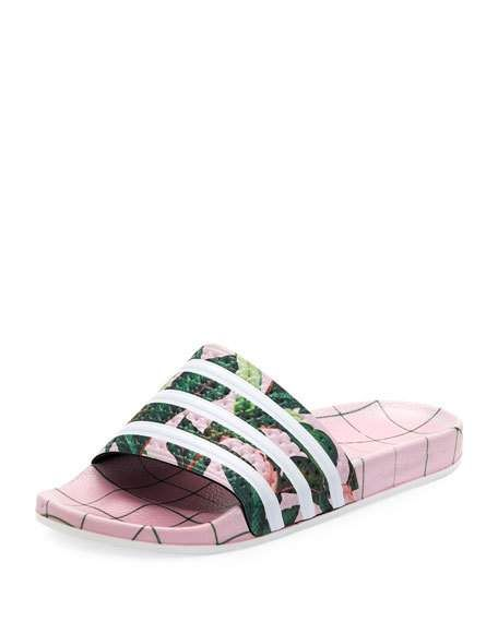 5fa8784d8f4a Get free shipping on Adidas Adilette Comfort Slide Sandal at Neiman Marcus.  Shop the latest luxury fashions from top designers.