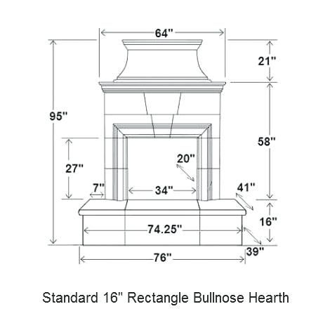 Corner Fireplace Dimensions Rectangle Hearth Corner Masonry Fireplace Dimensions Fireplace Dimensions Corner Fireplace Built In Bookcase